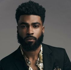 45 Dynamic Black Men Beard Styles 201945 Dynamic Black Men Beard Styles 2019 - FashiondioxideThe Black Hair DiaryThe Black Hair Diary Topnotch Hairstyles For Black Men Fine Black Men, Gorgeous Black Men, Handsome Black Men, Fine Men, Beautiful Men, Black Fade, Handsome Man, Black Men Beards, Black Men In Suits