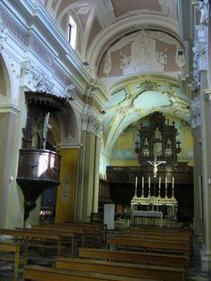 Inside Chiesa S.Maria e S.Marcello, Piazza della Liberta