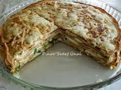 Hello my friends. Is it practical, practical and delicious and satisfying pies … Meat Recipes, Paleo Recipes, Snack Recipes, Snacks, Iftar, Vegan Gingerbread Cookies, Turkish Recipes, Different Recipes, Crepes