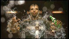 "Inspiration ▶▶▶ MoGraph // Sprite ""Unleashed - Drake"" // Psyop"