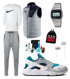 """Untitled #27"" by devyn-mills on Polyvore featuring NIKE, Zanerobe, Casio, Beats by Dr. Dre, Givenchy, Beauty Box, men's fashion and menswear"