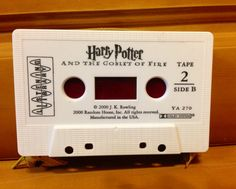 Harry Potter Cassette Tape Wallet by Wallettes on Etsy