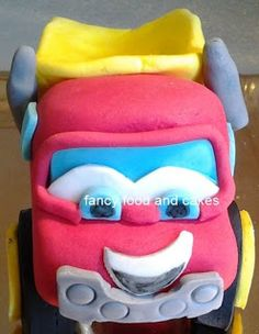 Personaggio per torta Chuck and Friends - Character for Chuck and Friends cake by Fancy Food and Cakes