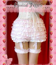 Classical Puppet Sweet Garter Bloomers