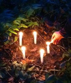 February ~ Candlemas ~ Celebrate ~ Wish Garden