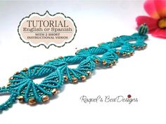 Micro Macrame Pattern with 2 short videos di RaquelsBeaDesigns, $10,00
