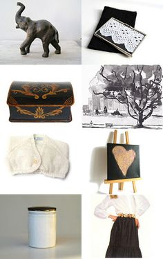 In the beginning, it was all black and white by Dorothy Williams on Etsy--Pinned with TreasuryPin.com