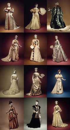 This 1989 exhibition of the Brooklyn Museum was called The Opulent Era: Fashions of Worth, Doucet and Pingat, and featured many exquisite works from the greatest couture houses of la belle époque