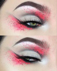 WEBSTA @ tesseffects - Anti Valentines Day ❤️✖️ I used: @anastasiabeverlyhills Dip Brow in Ebony and Waterproof Creme Color in Jet @katvondbeauty @thekatvond Shade and Light eye palette and White Out concealer @suvabeauty Hydra Liners in Scrunchie and Grease @nubounsom Russian Black lashes (use code tesseffects for 20% off your order! *affiliate)