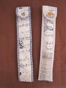 funda flauta, costura, couture, vuelta al cole, stitching