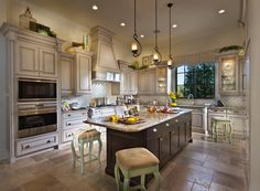 Kitchen in new Golden Oaks homes at Disney
