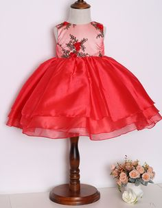 Wholesale Trendy Red Organza Embroidered Children's Party Dresses ST17155,$ 15.00 Club DressesOEM ServiceEmbroidered.Source from Guangzhou Moonyao Garment Co., Ltd. on Alibaba.com.    contact:moon01@moonyao.com   #KidsClothing #GirlsClothing #BabyClothing #KidsWear  #Pants #Trousers