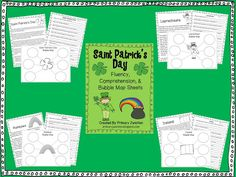 Free St. Patrick's Day Fluency and Comprehension Sheets