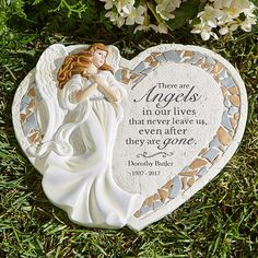 Need a unique gift? Send Angel's Path Memorial Garden Stone and other personalized gifts at Personal Creations.