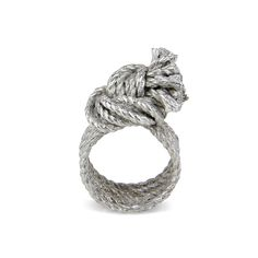 Knot ring Knot, Jewellery, Engagement Rings, Fashion, Enagement Rings, Moda, Knots, Jewels, Wedding Rings