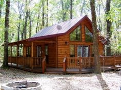 Your Dream Home? Dream home, loving the wrap around porch.Dream home, loving the wrap around porch. Log Cabin Living, Log Cabin Homes, Log Cabin Plans, Log Cabin Kits, Lake Cabins, Cabins And Cottages, Small Cabins, Small Log Cabin, Mountain Cabins