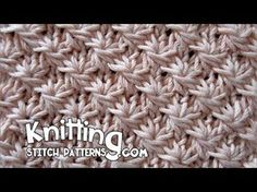 Watch video to learn how to knit the Daisy stitch. For written instructions, visit link: http://www.knittingstitchpatterns.com/2014/08/daisy-stitch.html If y...