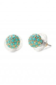 Stella & Dot Soiree Stud Turquoise  Only $24 Shop www.stelladot.com/doniellefreeman