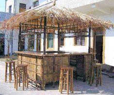 Black Bamboo Hut Bar Stools Ideas Ideas, Black Bamboo Hut Bar Stools Ideas Gallery, Black Bamboo Hut Bar Stools Ideas Inspiration, Black Bamboo Hut Bar Stools Ideas Image id Added on 02 Sep, 2013 Bamboo Roof, Bamboo Bar, Bamboo Fountain, Bamboo Ideas, Outdoor Tiki Bar, Outdoor Decor, Outdoor Bars, Tiki Bar Stools, Key West Decor