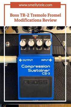 Hi All! I recently completed the Fromel Electronics modifications to a Boss CS-3 Compression Sustainer pedal! If you've considered this upgrade, I highly recommend it. Guitar Reviews, Music Software, Old Music, Guitars, Boss, Technology, Electronics, Lifestyle, Gift