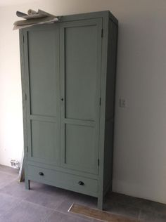 Painted Closet, Living Room Cabinets, Armoire, Tall Cabinet Storage, Sweet Home, Shabby, Bedroom, Interior, Scandinavian