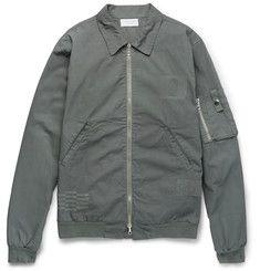 John ElliottEmbroidered Cotton-Canvas Bomber Jacket