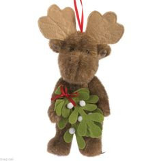 Boyds Bear * Jamie * Christmas Moose Ornament 2014 Free Ship w/ $20.00 order  #Christmas