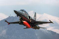 https://flic.kr/p/QHnurC | Northrop F-5F Tiger II, J-3211, Swiss Air Force | Sion, Canton of Valais, Switzerland