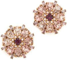 Kate Spade New York Trellis Blooms Statement Stud Earrings