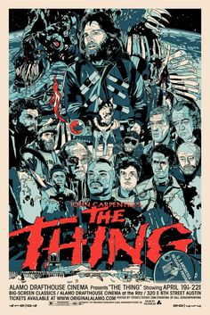 Movie Poster - The Thing (1982)