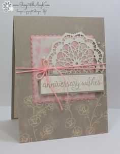 Stampin' Up! Falling For You for the Inkin' Krew Blog Hop