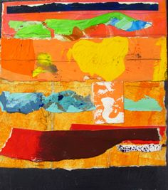 149 of 365 in 2015. acrylic, pencil, paper collage on masonite.