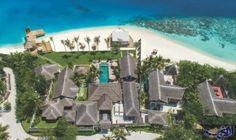"""رويال ريسيدنس في المالديف المكان المثالي لقضاء شهر عسل مميز: أصابني الانبهار حين رأيت تلك العربات التي تشبه سيارات """"الغولف"""" متوقفة عند…"""