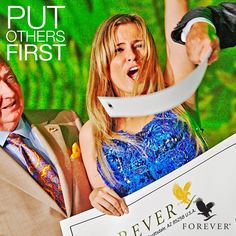 Help yourself by putting others first. #foreverliving #forever11 #helpingothers
