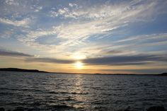 Photography by Suzanne:  Sunset over Georgian Bay