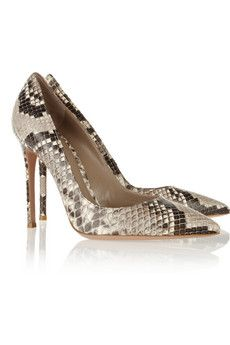 Python pumps by Gianvito Rossi