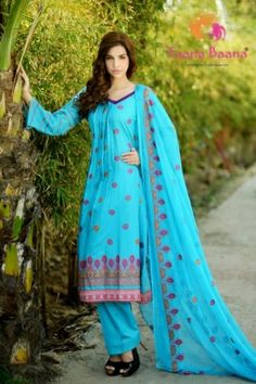 Taana Baana has launched new lawn collection of 2013 volume 2 for women and this collection not only stuns all fans of this brand but also amaze each and every fashion lover.