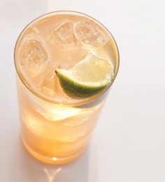 Spicy Ginger Soda  Fresh ginger and crushed red pepper flakes give this recipe from Portland's Grüner restaurant its fragrant, pleasantly spicy kick.