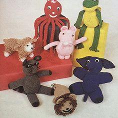 Maak vir jou die vrolike sirkus Teddy Bear, Toys, How To Make, Animals, Animaux, Animales, Games, Animal, Dieren