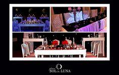 Te mostramos distintas opciones de mesa principal que te van a encantar. www.fincasolyluna.com.ar
