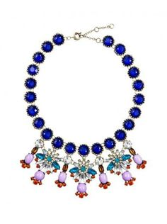 OCEAN CHERRIES NECKLACE | Designer Inspired Necklace | $14.99USD at BibJewelry.com | Worldwide Shipping