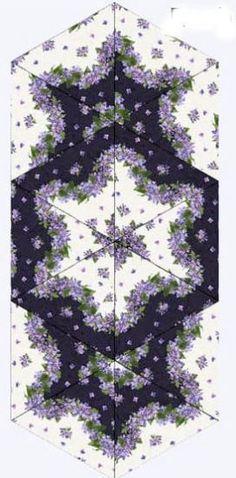 Fresh Lilacs Triangle Frenzy Table Runner Kit