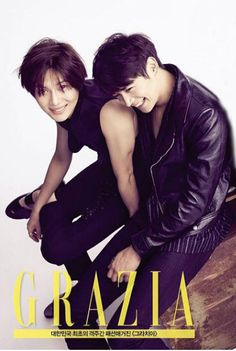 Taemin and Minho #MARRIED_TO_THE_MUSIC MARRIED TO THE MUSIC GRAZIA KOREA (graziakorea)