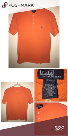 NWOT Ralph Lauren Shirt NWOT Ralph Lauren Shirt. Size 10/12. Made of 100% Cotton. Never worn. Polo by Ralph Lauren Shirts & Tops