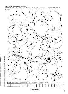 O mundo colorido: Grafimania 2 Atividades de Coordenação Motora-Parte 2 Animal Activities, Motor Activities, Classroom Activities, Activities For Kids, Preschool Colors, Preschool Writing, Preschool Worksheets, Art For Kids, Crafts For Kids