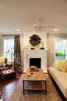 I love the décor! I want an arm chair like that comfy one in the corner. :)