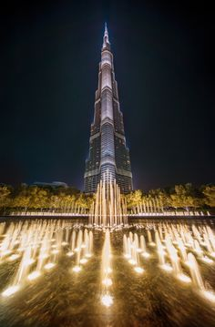 [Dubai] The Massive Burj Khalifa by - Trey Ratcliff Beautiful Buildings, Beautiful Places, Places Around The World, Around The Worlds, Dubai City, Dubai Uae, World 2020, Dubai Travel, Travel Europe
