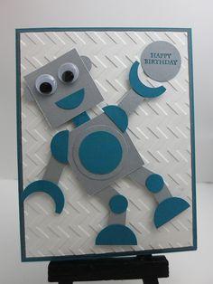 Robot Birthday Card                                                       …