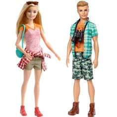 Doll Clothes Barbie, Barbie Toys, Barbie Style, Barbie Fashionista, Camping Car Barbie, Lps Toys, Barbie Family, Camping Style, Lol Dolls