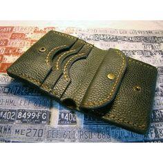 Брендовый портмоне Purse blue leather